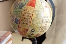 cartes et globes terrestres