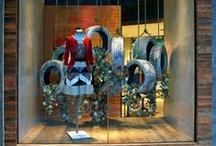 Window Displays / retail through window art