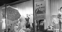 Vintage Retail / When retail was glamorous