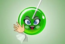 GREENIE / My name is GREENIE. I am sick of corruption, wars, violence ald injustice! I wish i could change the world, and there were more people like me.