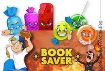 BOOK SAVER / Nos hemos colado en un juego, se llama Book Saver y puedes ser el primero en descargarlo!! termina de salir y ya lo tienes para tu Android. http://ow.ly/uhfHn