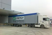 Delivery vehicles / What vehicles to expect when you order from LC Energy