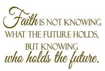 Faith / Faith is confidence or trust in a person, thing, deity, view, or in the doctrines or teachings of a religion. It can also be defined as belief that is not based on proof, as well as confidence based on some degree of warrant. The word faith is often used as a synonym for hope, trust, or belief.  Hebrews 11:1 (NIV) Now faith is confidence in what we hope for and assurance about what we do not see.