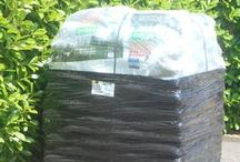 Bagged Pellet Deliveries / Our bagged pellet delivery process.