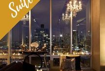 Penthouses / Penthouse apartments, luxury lofts, penthouse interiors, views, decor, rooftops, luxurious living rooms, modern inspiration.