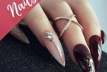 Nail Art / Nail design art, nail polishes, gel design, acrylic nail art, manicure inspiration: long, natural, stiletto, oval, round, ballerina shapes and so on.
