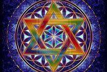 Mandala, géométrie sacrée ...