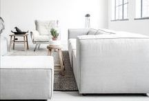 White Spaces / Beautiful Pins incorporating white colours and minimalist design.