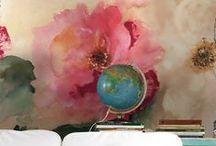 Super Girly Interiors / Interior design that oozes femininity - pinkness, prettiness, glitz and glam!