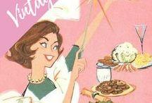 vintage / Vintage illustrations, cards, retro ads, vintage magazine, fashion, vintage ad posters.