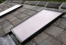 Bespoke Conservation Rooflights / Bespoke Conservation Rooflights supplied to 'The Studio on the green' by Adrian Morrow Architects