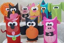 Craft Ideas for Kids / Crafts for kids includes--DIY, tutorials, ideas.