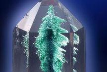 Minéraux : transparents / Les transparents, sans couleur, mais souvent avec inclusions
