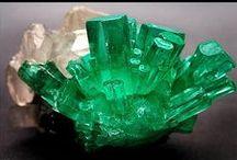 Minéraux : vert