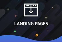 Landing Pages / Landing Page Templates Easy and powerful 'engagement system' to turn traffic into money - http://www.templatemonster.com/landing-page-templates.php