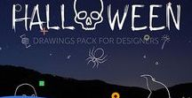 Halloween Printables & Web Design Stuff
