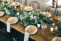 Tablescapes / I love a well decorated table