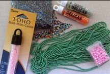 Jewelry Making Materials / Information on the materials used to make beaded jewelry. Tutorials, patterns and videos on how to use them can be found on a related board, such as Beading with two-hole beads.