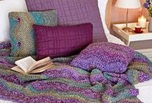 Crochet for the Home / Free Patterns and Inspirations for items like blankets/afghans, pillows, baskets, dishtowels, etc.