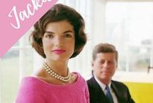 Jackie Kennedy / Jacqueline Kennedy Onassis - Former First Lady of the United States - inspiration, fashion outfits, family images, style icon.