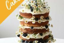 Floral Fruity Cakes, Cupcakes, Pancakes, Waffles & more / Floral fruity cakes, cupcakes, pancakes, waffles, mini cupcakes, fruit cake inspiration, recipes, fresh, no bake, stylish food, flat lay food photography.