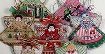 Nadal, Natale, Navidad. / Punto de cruz