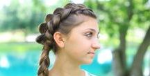 Cute Girls Hairstyles {Photos} / Beautiful Hairstyle reference for moms and girls everywhere!