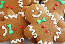 Christmas cookies / Recipes for Christmas cookies and baking