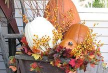 It's Fall Ya'll / Fall and Thanksgiving decor ideas and crafts