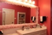 Children's Bathrooms Austin, TX  / Here is a nice collection of children's bathroom vanities that we have done.