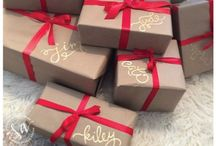 Pretty wrapped packages