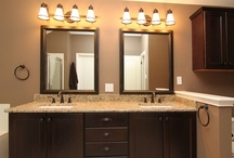 Small Bathroom Remodel / Sometimes people just want their smaller older bathroom updated a bit. Here is one example of a small bathroom remodel that we did in #Austin TX.