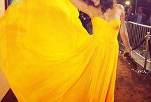 Because were royal  / Glamorous gowns  / by Karina Cruz