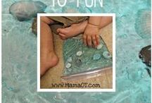 OT - Sensory Play & Activities / by Amy Rose Recker