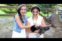 Brooklyn and Bailey / My twins cute, crazy, fun, adventures, tutorials, inspiration.