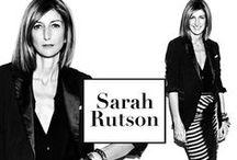 style icon | Sarah Rutson