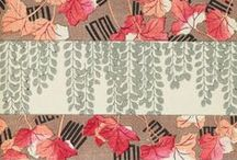 Japanese Patterns & illustrations