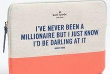 Amazing Kate Spade Stuff / Want drool dream