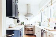 Swoon-Worthy Kitchens | Kitchen Designs / The kitchens that I'm crushing on and would love to create in!
