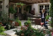 Outdoor Patio's and Kitchen