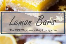 Bar Cookie Recipes / Recipes for Bar cookies