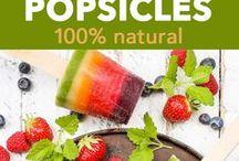 Frozen Treat Recipes / Recipes for frozen desserts and recipes