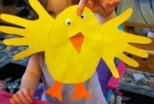 Children's Spring Crafts / Our grandchildren love to do crafts all seasons. / by Joan Keller