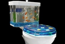 Unique Toilets / Creative toilets that would look great sharing a bathroom with some ToiletTree Products.