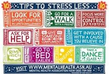 Stress Free Living / Tips for living a healthy, stress-free life!