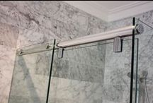 Shower screens / White Bathroom Co specialises in custom made shower screens