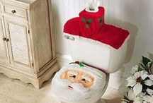 Jingle Bell Bathroom / Add a little Christmas to your bathroom this holiday season.