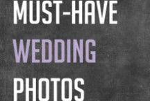 Wedding / Idéer til bryllupsbilleder