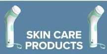 Skin Care Products / Accessories to keep your skin in perfect condition. We have a Professional Skin Cleansing System with 4 changeable heads; a Travel and Storage Case for the Skin Care System and replacement heads for the brush.
