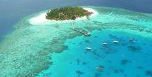 Maldivas / Este tablero lo vamos a destinar a mostrar los encantos de un país como Maldivas, uno de los mas peculiares del planeta en todos los aspectos.